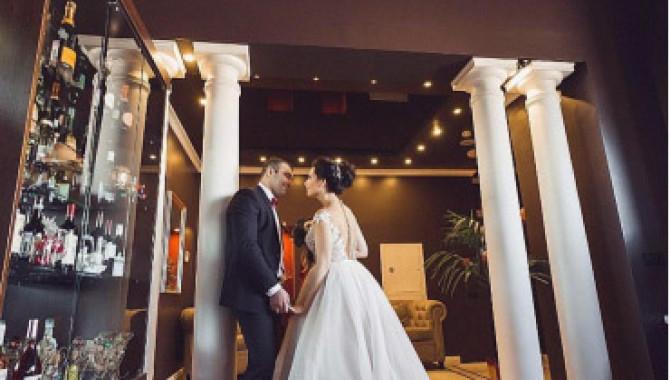 """Свадьба в панорамном ресторане """"Высота"""""""