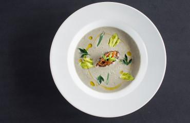 Крем-суп из устриц