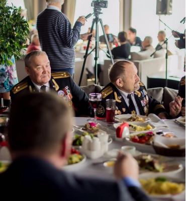 Традиционный благотворительный обед для ветеранов в Высоте