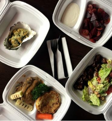 Мы запустили доставку еды на нашем сайте!